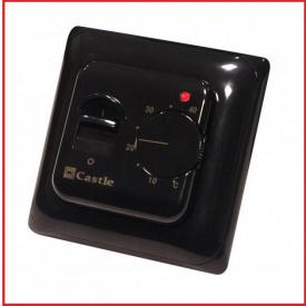 Терморегулятор механический Castle М5,16 Черный