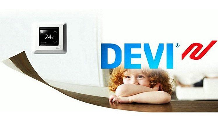 Теплая скидка на теплый пол и терморегуляторы Devi из Дании