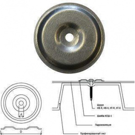 Шайба притискна металева 50 мм