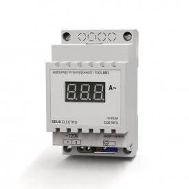 Амперметр однофазный переменного тока цифровой на DIN-рейку DEUS Electro АМ 1 (220 В 100 А)