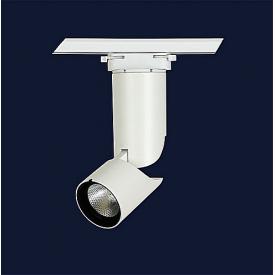 Світильник трековий світлодіодний 12 вт 4500 к білий 68x185 мм