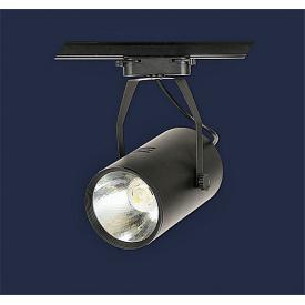 Світильник трековий світлодіодний 16 вт 4500 до чорний 99x175 мм