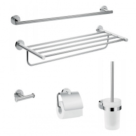 Logis Universal Набор аксессуаров для ванной комнаты 5 в 1 хром