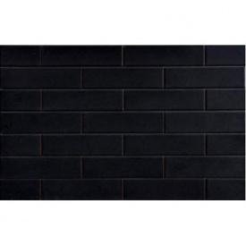 Клинкерная плитка Cerrad ELEWACJA GLADKA NERO SZKLIWIONA 65х245 мм