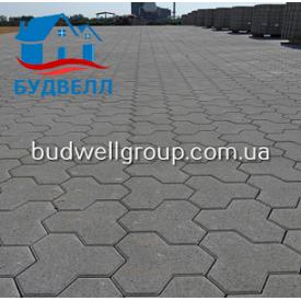 Тротуарная плитка Тригран 180x180 мм
