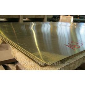 Латунный лист ЛС 59 3х600х1500 мм