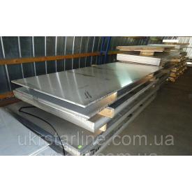 Титановый лист ВТ1-0, 8х1000х2000 мм ГОСТ