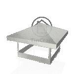 Грибок прямоугольный 0.65 мм 150х150 мм