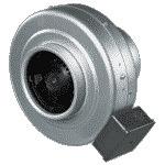 Канальный вентилятор VENTS ВКМ 350 233 Вт 1375 об/мин 2210 м3/ч