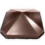 Колпак восьмиугольный 250х390 оцинкованный