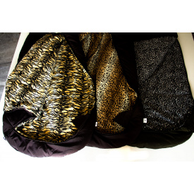 Спальный мешок кокон Arvisa флис 220х80х40 бундестаг с капюшоном