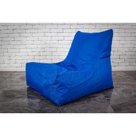 Бескаркасное кресло мешок груша XL oxford 60х80x90 синий