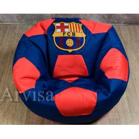 Кресло мешок мяч XXL 150 oxford 600 Barcelona FCB