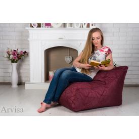 Бескаркасное кресло мешок 60х80х90 см XL Бордо