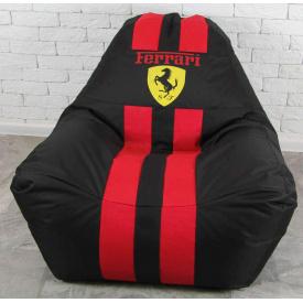 Бескаркасное кресло мешок с логотипом Ferrari XL oxford