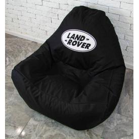 Бескаркасное кресло мешок диван с логотипом Land Rover XL oxford