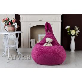 Дитяче крісло груша 90х60 зайця з вухами