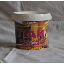Akrilika Лак акриловый матовый 1,0 кг