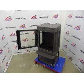 Чугунная печь-камин со стеклами по бокам Plamen Authentic 35 11 кВт