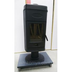 Чугунная печь Plamen Hana черная