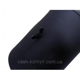Колено черное жаростойкое 90 градус 2 мм 160