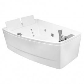 Ванна 170x120x63 см асиметрична гідромасажна ліва