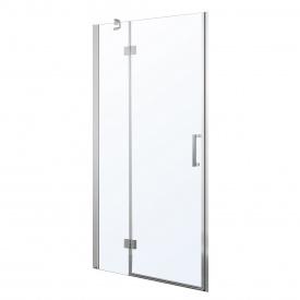 Дверь в нишу 100x195 см распашная на петлях прозрачное стекло 6 мм