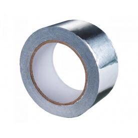 Клейка стрічка фольгована 50 мм 25 м алюмінієвий Juta
