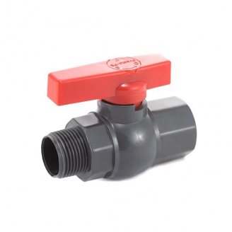 Кран кульовий Presto-PS 25 мм з зовнішнім і внутрішнім різьбленням 1 дюйм (PFV-0132)