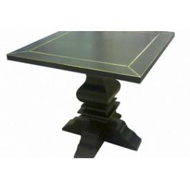 Стол для кафе Премьер Мебель массив ясеня с патиной 700х700х750 мм