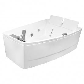 Ванна 170x120x63 см асиметрична гідромасажна права