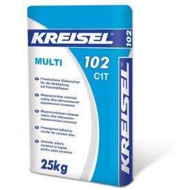 Клей для плитки Kreisel Мульти 102 25 кг