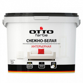 Краска интерьерная OTTOfarbe акриловая 4.2 кг