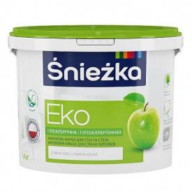 Краска интерьерная Sniezka Eko 1.4 кг