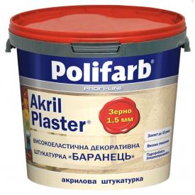 Краска грунтовочная Polifarb Akril-Plaster 10 л