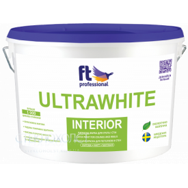 FT ULTRAWHITE INTERIOR 10л Глубокоматовая Краска для потолка и стен