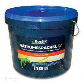 Bostik Vatrumspackel LV 10л Готовая влагостойкая шпатлевка