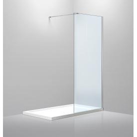 Стінка 900x1900 мм прозоре скло 8ммПрофиль стіновий 1900мм для Walk INДepжaтель скла D 1000мм VOLLE 18-08-90+01-01+05D-100