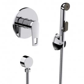 BENITA набір змішувач прихованого монтажу з гігієнічним душем VOLLE 15175200