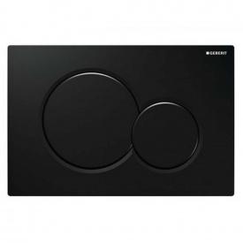 Sigma01 Смывная клавиша пластик черный RAL 9005 GEBERIT 115.770.DW.5