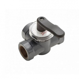 Поворотный трехходовой клапан Danfoss HRE3 PN6 DN25 внутренняя резьба 065Z0419