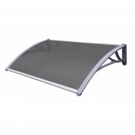 Навіс для вхідних дверей Siker 800-C (800 * 1500) Сірий