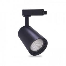 Трековый светильник Feron AL100 12W черный