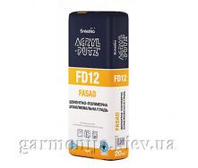Шпаклівка Sniezka Acryl-Putz FD12 Fasad цементна 20 кг