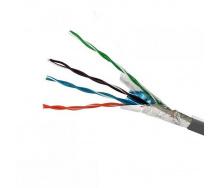 ElectroHouse Кабель FTP 4х2х0,51 CCA серый (внутр монтаж)
