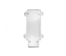 Настенное крепление белое пластик для трекового LED светильника ElectroHouse 20W