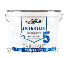Краска интерьерная INTERIOR 5 Kompozit 7 кг