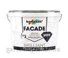 Краска фасадная FACADE LUXE Kompozit 14 кг