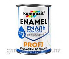 Эмаль акриловая PROFI Kompozit 2,7 л Белый Глянцевая