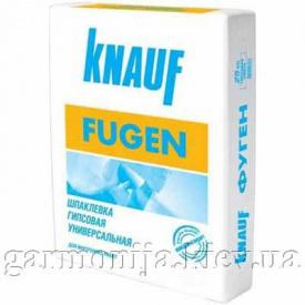 Шпаклевка KNAUF Fugenfuller гипсовая 25 кг
